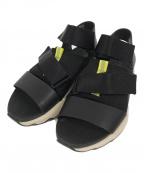 SOREL(ソレル)の古着「Kinetic Impact Sandal」 ブラック