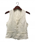 LARDINI(ラルディーニ)の古着「ベスト」 ホワイト