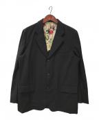 COMME des GARCONS HOMME(コムデギャルソン オム)の古着「テーラードジャケット」|ブラック