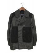 ()の古着「Pコート」|ブラック