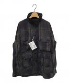 Engineered Garments(エンジニアドガーメンツ)の古着「EXPLORER SHIRT JACKET」 パープル