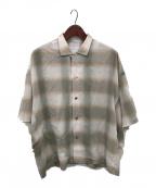 ANITYA(アニティア)の古着「ポンチョオープンカラーシャツ」|ベージュ