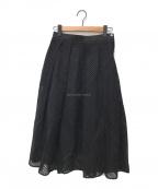 AKIRA NAKA(アキラナカ)の古着「フレアスカート」|ブラック