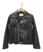 ()の古着「ライダースジャケット」 ブラック