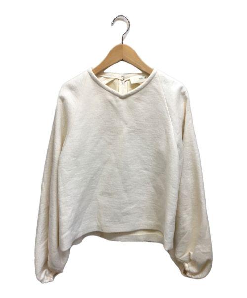 CYCLAS(シクラス)CYCLAS (シクラス) 縮絨ニット アイボリー サイズ:36の古着・服飾アイテム