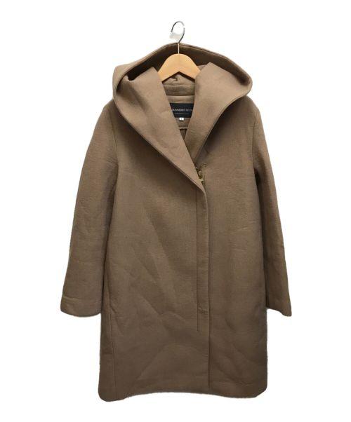 STRAWBERRY FIELDS(ストロベリーフィールズ)STRAWBERRY FIELDS (ストロベリーフィールズ) フーデッドコート キャメル サイズ:Sの古着・服飾アイテム