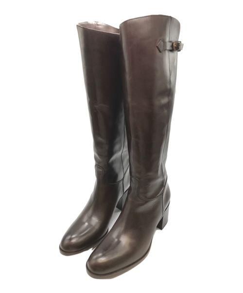 SARTORE(サルトル)SARTORE (サルトル) ジョッキーブーツ ブラウン サイズ:37 1/2の古着・服飾アイテム