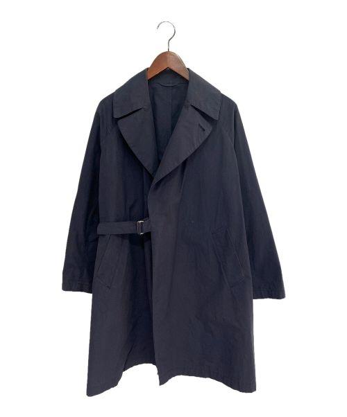 COMOLI(コモリ)COMOLI (コモリ) タイプライタータイロッケンコート ネイビーの古着・服飾アイテム