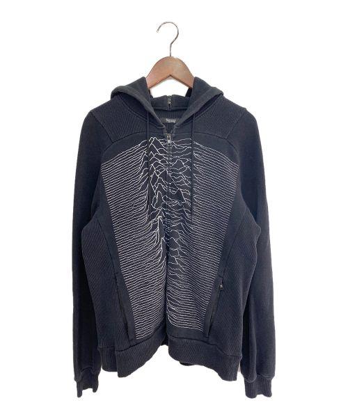 UNDERCOVERISM(アンダーカバーイズム)UNDERCOVERISM (アンダーカバーイズム) JOY DIVISION ジップパーカー ブラック サイズ:2の古着・服飾アイテム