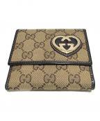 GUCCI()の古着「2つ折り財布」|ブラウン