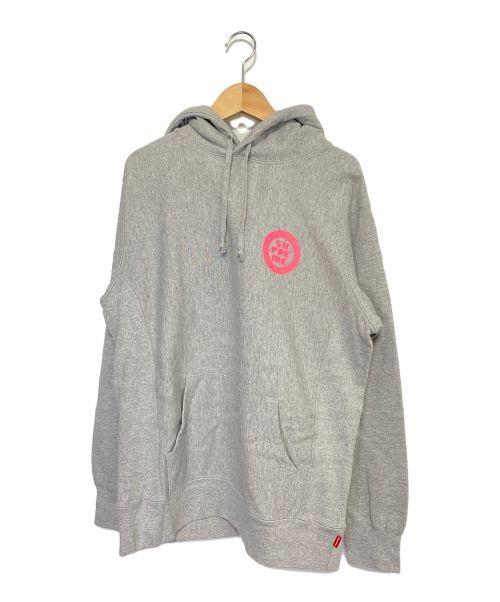 SUPREME(シュプリーム)SUPREME (シュプリーム) Disrupt Hooded Sweatshirt グレー サイズ:Mの古着・服飾アイテム
