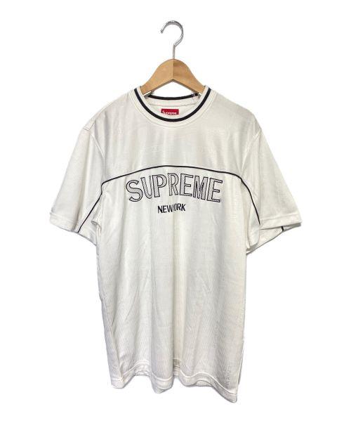 SUPREME(シュプリーム)SUPREME (シュプリーム) Dazzle Warm Up Top ホワイト サイズ:Mの古着・服飾アイテム