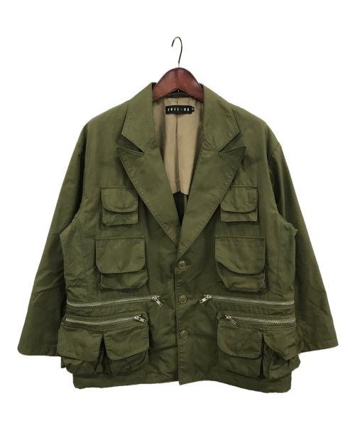 FULL-BK×Kzm(フルビーケー×カズマ)FULL-BK×Kzm (フルビーケー×カズマ) JACKET オリーブ サイズ:Mの古着・服飾アイテム