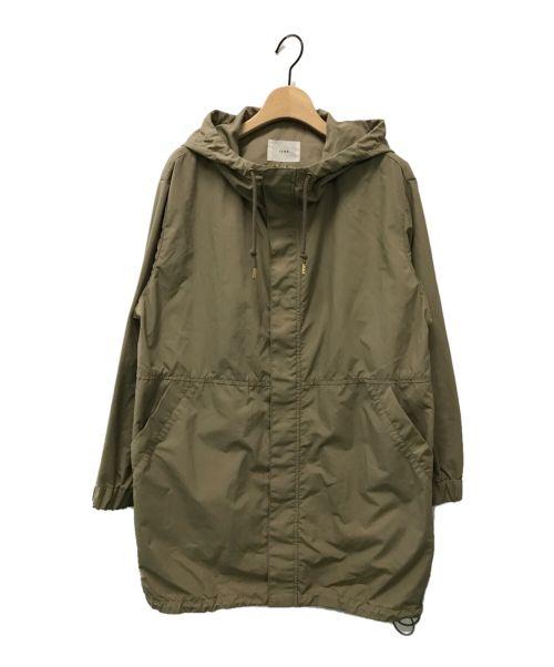 IENA(イエナ)IENA (イエナ) ライトナイロンフードミドルブルゾン ベージュ サイズ:36の古着・服飾アイテム