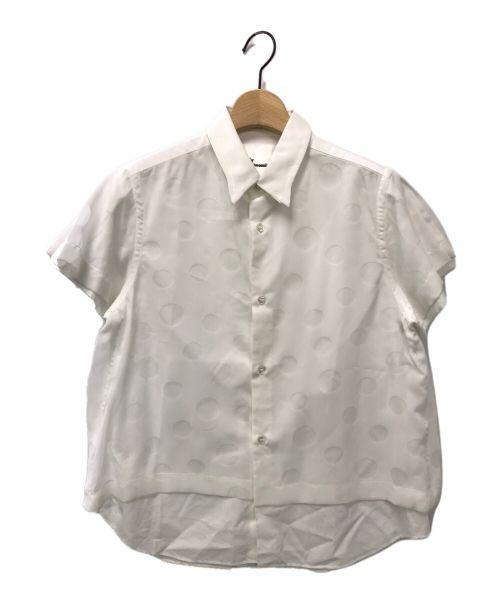 noir kei ninomiya(ノワール ケイ ニノミヤ)noir kei ninomiya (ノワール ケイ ニノミヤ) 半袖シャツ ホワイト サイズ:Mの古着・服飾アイテム