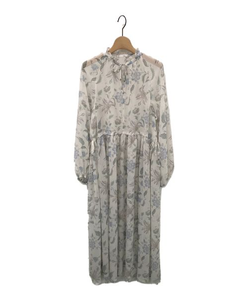 GRACE CONTINENTAL(グレースコンチネンタル)GRACE CONTINENTAL (グレースコンチネンタル) シノワズリワンピース アイボリー サイズ:36の古着・服飾アイテム