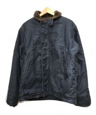 THE REAL McCOY'S (ザリアルマッコイズ) デッキジャケット ネイビー サイズ:40