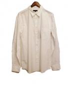 COMMEdesGARCONSHommePlus(コム デ ギャルソン オム プリュス)の古着「長袖シャツ」 ホワイト