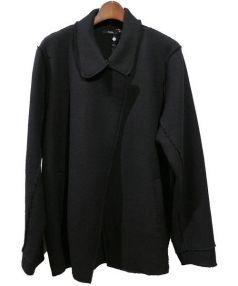 bassike(ベイシーク)の古着「WOOL FELT PEA COAT/フェルトピーコート」|ブラック