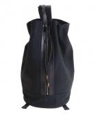 TROPHY CLOTHING(トロフィークロージング)の古着「ラウンドトリップバッグ/2WAYバッグ」|ブラック