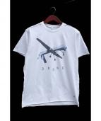 FRAGMENT DESIGN(フラグメントデザイン)の古着「DRONE TEE/プリントTシャツ」|ホワイト