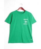 FRAGMENT DESIGN(フラグメントデザイン)の古着「プリントTシャツ」|グリーン