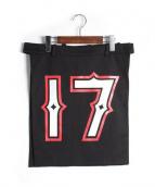 GIVENCHY(ジバンシィ)の古着「エプロンスカート」|ブラック