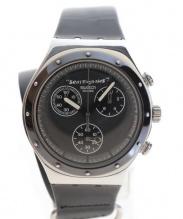 SWATCH×Vivienne Westwood(スウォッチ×ヴィヴィアン ウエストウッド)の古着「リストウォッチ/腕時計」 ブラック×シルバー