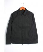 RIP VAN WINKLE(リップヴァンウィンクル)の古着「ジップシャツブルゾン」|ブラック