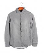 RIP VAN WINKLE(リップヴァンウィンクル)の古着「SWEAT DENIM SHIRT/シャツ」|グレー