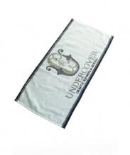 UNDERCOVER(アンダーカバー)の古着「CHAOTIC RESORTS&HOTELS/タオル」|ネイビー×カーキ