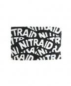 NITRAID(ナイトレイド)の古着「ラグマット」 ブラック×ホワイト