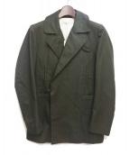 N4(エヌフォー)の古着「コットンPコート」 カーキ