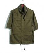 THE RERACS(ザ リラクス)の古着「M65ジャケット/7分袖ミリタリージャケット」|カーキ