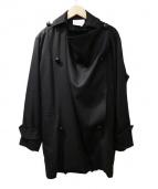 JUN OKAMOTO(ジュンオカモト)の古着「コート」 ブラック