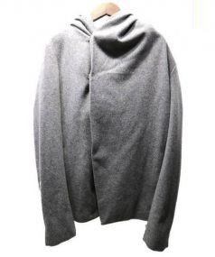 N4(エヌフォー)の古着「フーテッドラップコート」|グレー