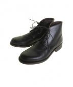 N4(エヌフォー)の古着「レースアップシューズ/ブーツ」 ブラック