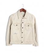 Seagreen(シーグリーン)の古着「CORDUROY JEAN JKT/ジャケット」|ベージュ