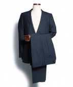 DRIES VAN NOTEN(ドリスヴァンノッテン)の古着「セットアップスーツ」|ネイビー