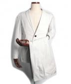 Blackbarrett by Neil Barrett(ブラックバレット バイ ニールバレット)の古着「セットアップ2Bスーツ」|オフホワイト