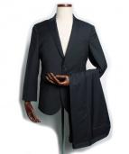Neil Barrett(ニール バレット)の古着「ピンストライプセットアップ2Bスーツ」|ネイビー
