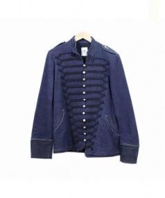 MANDO(マンドー)の古着「ナポレオンジャケット」 ネイビー