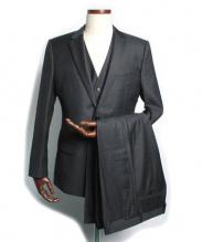 DOLCE & GABBANA(ドルチェアンドガッバーナ)の古着「3Pセットアップスーツ」|グレー