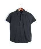 KRIS VAN ASSCHE(クリスヴァンアッシュ)の古着「ポロシャツ」|ブラック