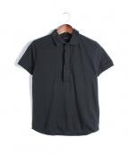 KRIS VAN ASSCHE(クリス ヴァン アッシュ)の古着「ポロシャツ」 ブラック