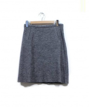 tomasmaier(トーマスマイヤー)の古着「TM/FELTED HERRING BONE SKIRT」|M.GRAY