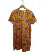 SARAH&BRED(サラアンドブレット)の古着「アラベスクptドレス」|オレンジ