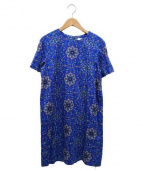 SARAH&BRED(サラアンドブレット)の古着「アラベスクptドレス」|ブルー