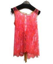 SARAH&BRED(サラアンドブレッド)の古着「LACEBABYDOLL」|ピンク