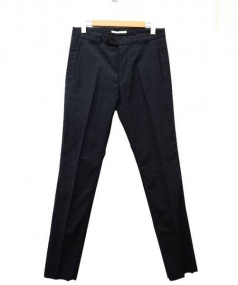 N4(エヌフォー)の古着「DOUBLE PIPING POCKET TROUSERS/」 ブラック